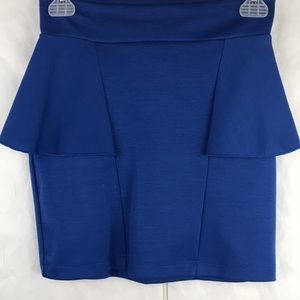 New with Tags Lovely Day mini skirt waist ruffle S